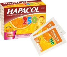 thuốc hapacol 250 hạ sốt