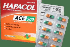 thuốc hapacol ace 500