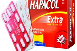 thuốc hạ sốt hapacol extra