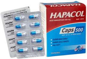 thuốc hapacol caps 500