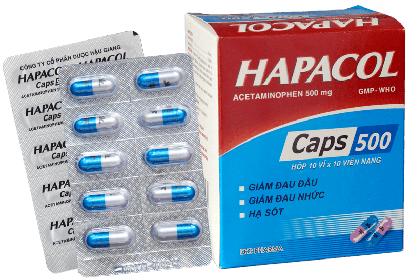 Hapacol Caps 500