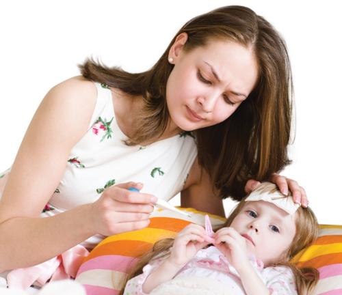 Cách xử lý khi trẻ bị cảm cúm 1