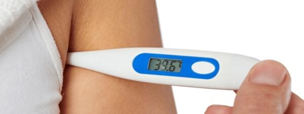 Phương pháp đo thân nhiệt ở nách rất phổ biến