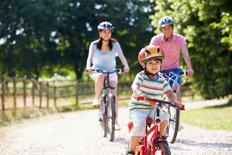 đạp xe để giữ sức khỏe