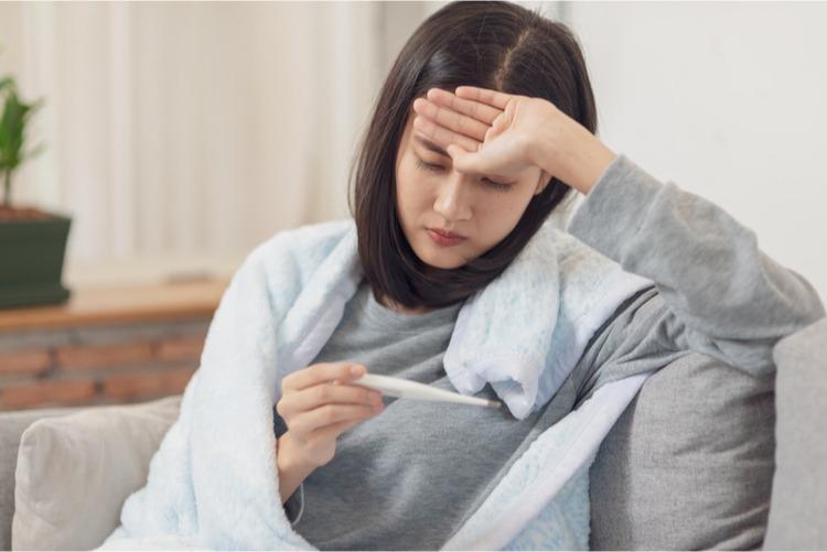 cảm cúm gây sốt