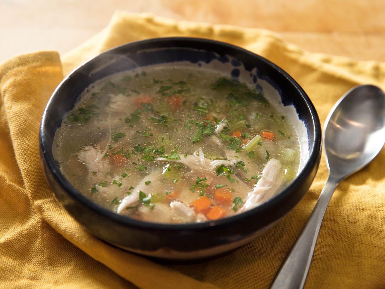 súp giàu dinh dưỡng cho người bị cảm