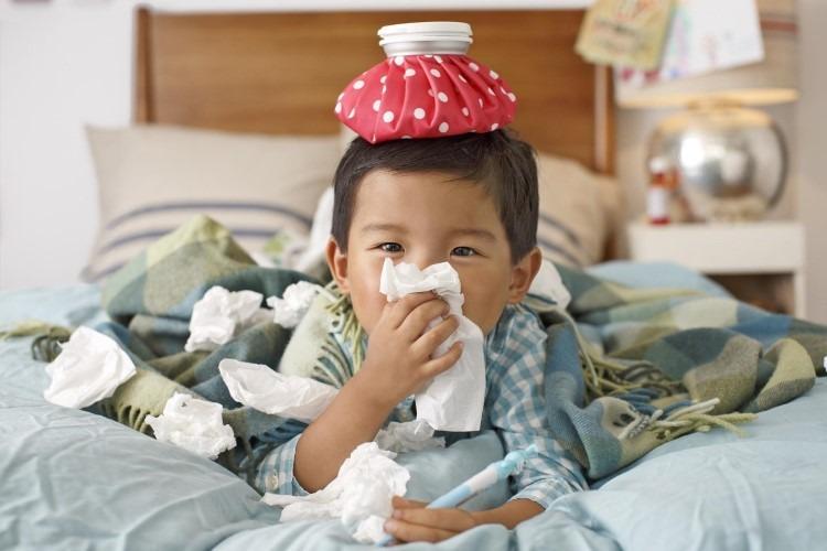 Triệu chứng cảm cúm ở trẻ nhỏ