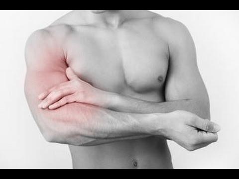 trị đau cơ bắp tay