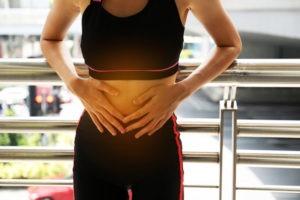 chữa trị đau cơ bụng