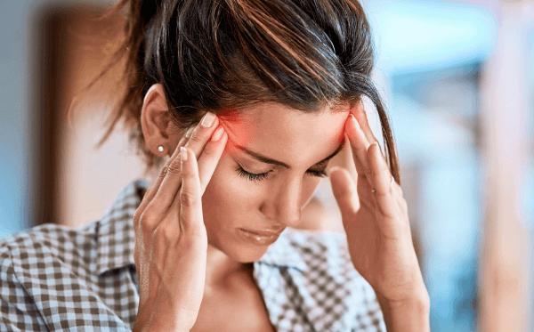 biểu hiện đau đầu