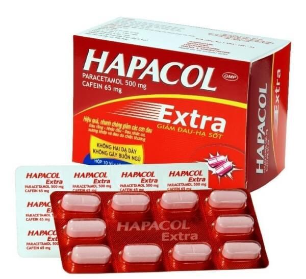 thuốc giảm đau hạ sốt nhanh