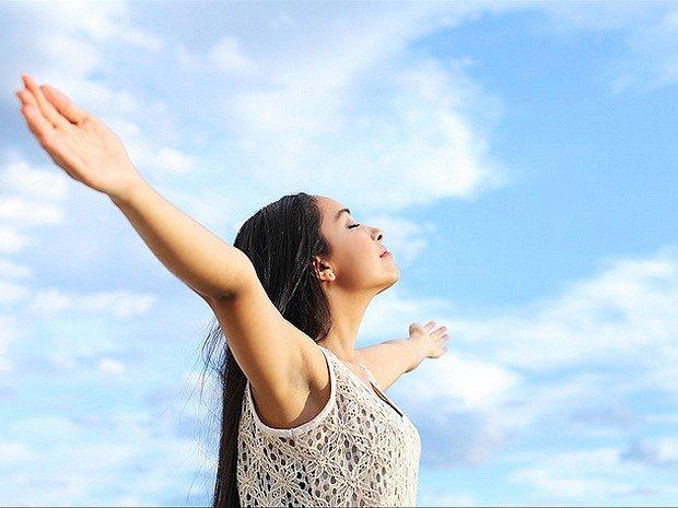 hít thở không khí trong lành