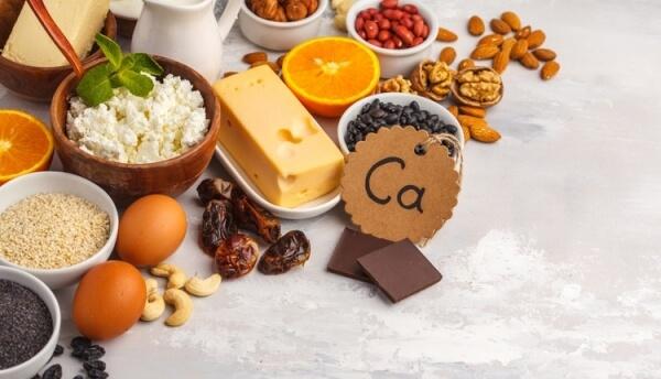 Một chế độ ăn uống lành mạnh đầy đủ canxi và vitamin D cần thiết để có cơ thể khỏe mạnh