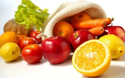 Bổ sung đầy đủ vitamin trong các bữa ăn