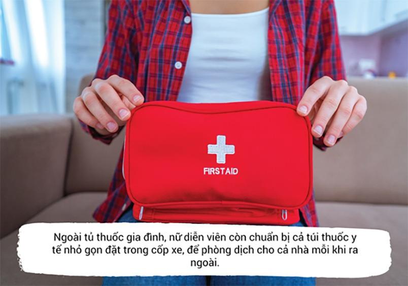 Nếu có điều kiện, bạn có thể chuẩn bị thêm túi thuốc y tế nhỏ gọn mỗi khi ra ngoài