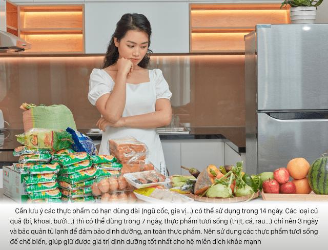 Phân chia cách sử dụng thực phẩm khoa học để đảm bảo bữa ăn dinh dưỡng