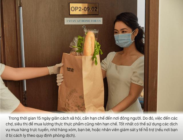 Có thể sử dụng dịch vụ giao hàng trực tuyến để mua thực phẩm và đồ dùng thiết yếu