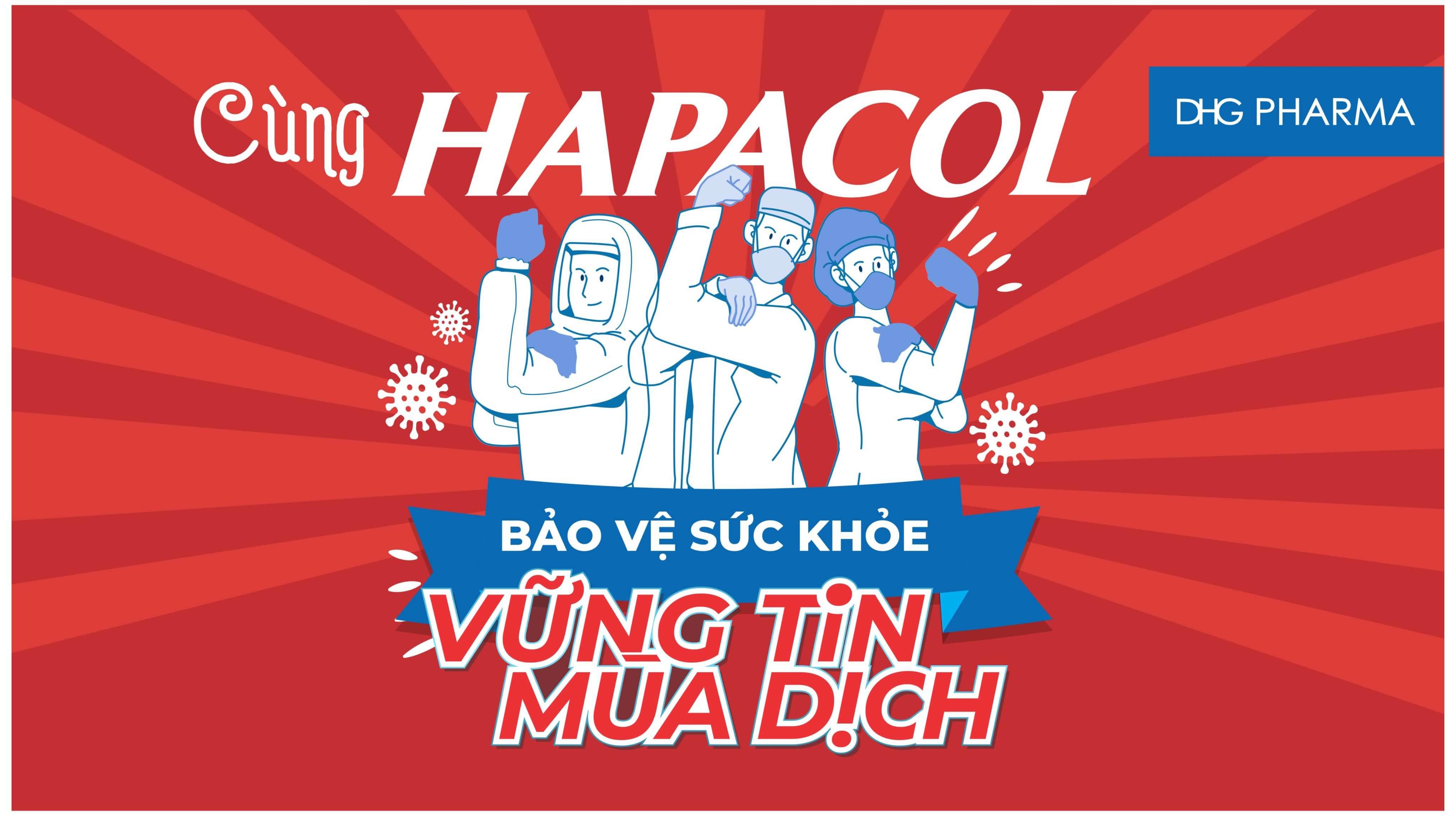 Cùng Hapacol vững tin mùa dịch