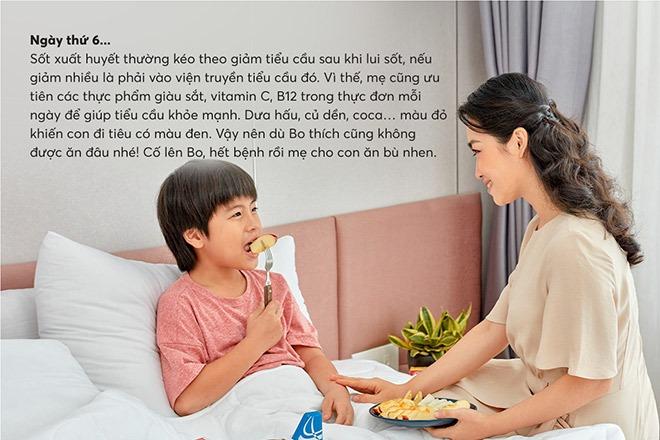 Ưu tiên các thực phẩm giàu sắt, vitamin C và B12 trong thực đơn của bé