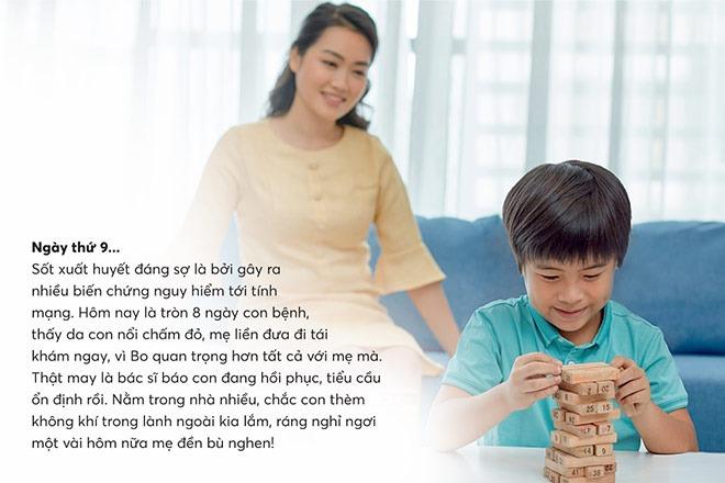 Mẹ cần cẩn thận vì sốt xuất huyết có thể gây ra nhiều biến chứng nguy hiểm đến tính mạng
