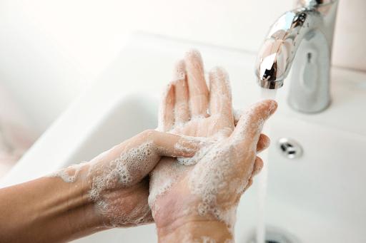 rửa tay phòng tay chân miệng