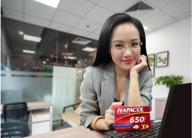 sử dụng Hapacol 650 giảm đau hạ sốt