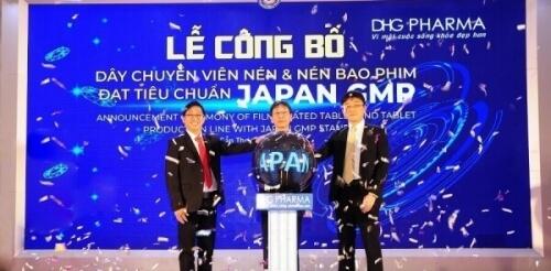 Chứng nhận Japan GMP đối với sản phẩm Hapacol