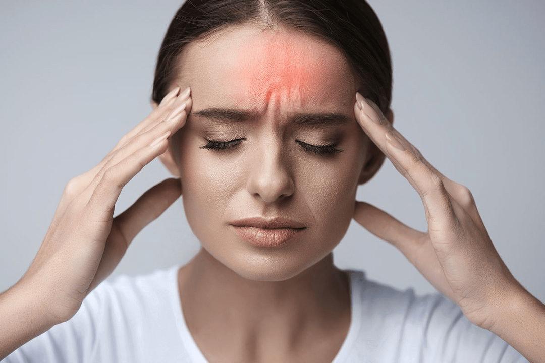 Co thắt mạch máu gây đau đỉnh đầu