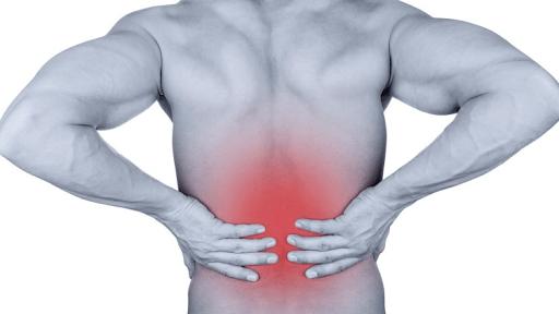 đau thắt lưng dưới cột sống