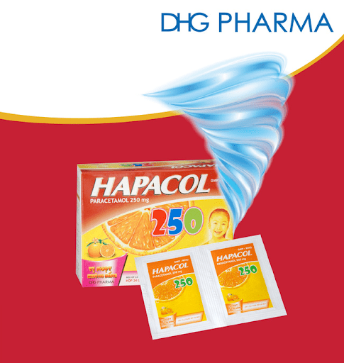 thuốc hạ sốt Hapacol 250