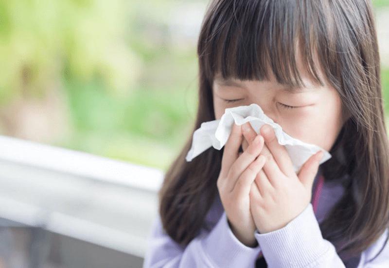 Trẻ em dễ mắc bệnh cúm do sức đề kháng kém