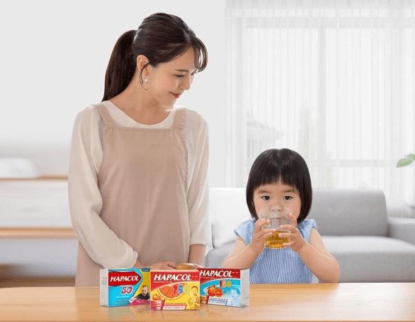 Hapacol - giải pháp bảo vệ sức khỏe cho cả gia đình