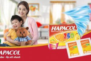 Hapacol giảm đau hạ sốt nhanh
