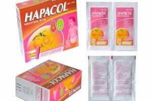 Sử dụng thuốc hạ sốt giảm đau khi trẻ bị đau bụng kèm sốt